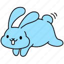 bunny, easter, hop, jump, pet, rabbit, spring icon