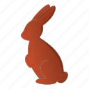 bunny, chocolate, easter, holiday