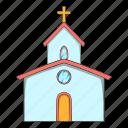 building, church, construction, religion