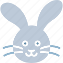 easter bunny, easter hare, easter rabbit, happy easter icon