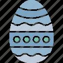 celebration, design, easter, easter egg icon