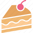 brownie cake, cake, dessert, easter cake icon