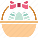 easter fruits, food, fruits, fruits bowl icon