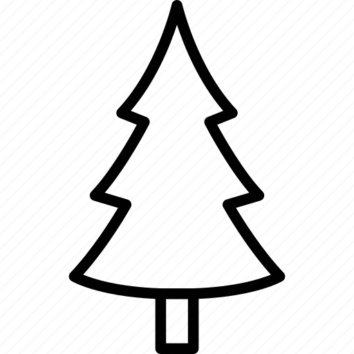 christmas tree, easter, ecology, festival icon