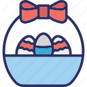 bowl, celebration, easter bowl, food icon