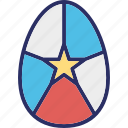 decorative egg, easter, easter decoration, easter egg icon