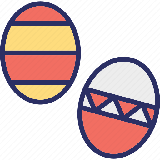 decoration, easter eggs, eggs, paschal eggs icon