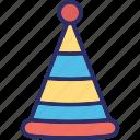 christmas, christmas fedora, christmas hat, claus icon