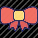 bow necktie, bow tie, knot, necktie icon