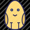 decorative, easter, easter egg, egg icon