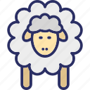 animal, mutton, ram, sheep icon
