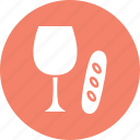 drink, easter, glass, glass and egg icon