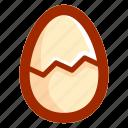 broken, easter, easteregg, egg, food, shell