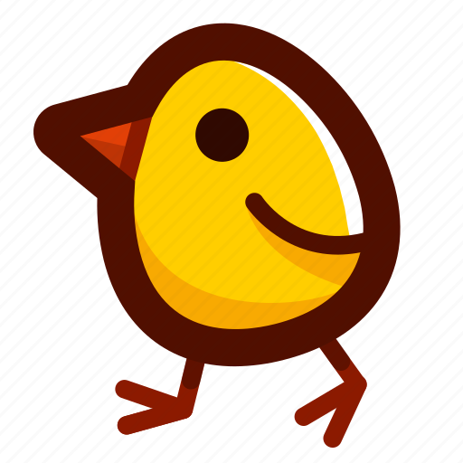 baby, chick, chicken, easter, easteregg, food icon
