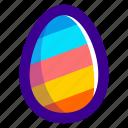 easter, easteregg, egg, food, pattern, stripes