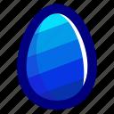 blue, easter, easteregg, egg, food, pattern, stripes