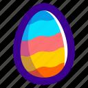 easter, easteregg, egg, food, pattern, waves