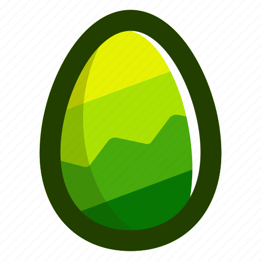 easter, easteregg, egg, food, green, zag, zig icon