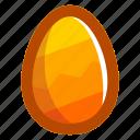 easter, easteregg, egg, food, pattern, yellow, zig-zag