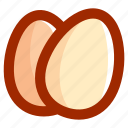 chicken, easter, eggs, food icon