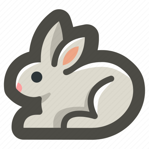 animal, bunny, easter, rabbit, spring icon