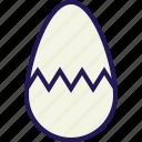 bunny, celebration, easter, egg, rabbit icon