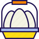 bunny, celebration, easter, egg, eggs, rabbit icon