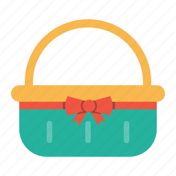 basket, carry, celebration, day, easter, gift icon