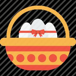 basket, celebration, day, easter, egg, eggs, gift icon