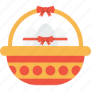 basket, celebration, day, easter, egg, eggs, gift icon