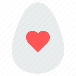 easter, egg, heart, holiday, love, wish, wishes icon