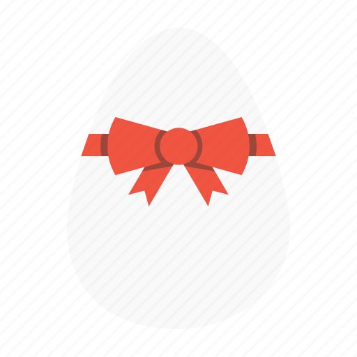 celebration, day, easter, egg, offer, ribbon, shopping icon