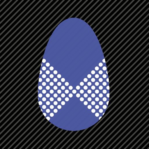 blue, corner, easter, easter egg, egg icon