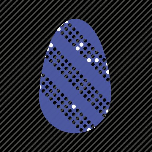 easter, easter egg, egg, eggs, strips icon