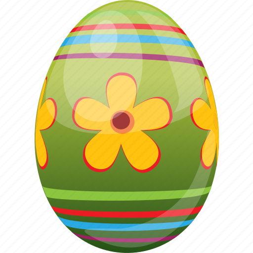 decoration, easter, egg, food, holiday icon