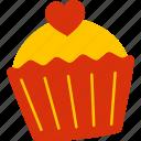 cupcake, cake, sweet, food, bakery