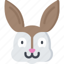 bunny, christianity, easter, holidays, rabbit icon
