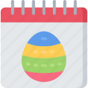 calendar, christianity, date, easter, holidays icon