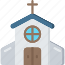 christianity, church, easter, holidays, religion icon