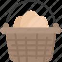 basket, box, christianity, easter, egg, holidays icon