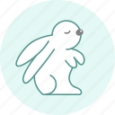 celebration, easter, event, holiday, party, rabbit icon