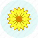 celebration, easter, event, holiday, party, sunflower icon