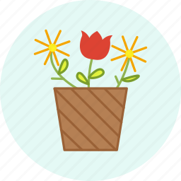 celebration, easter, event, flower, holiday, party icon