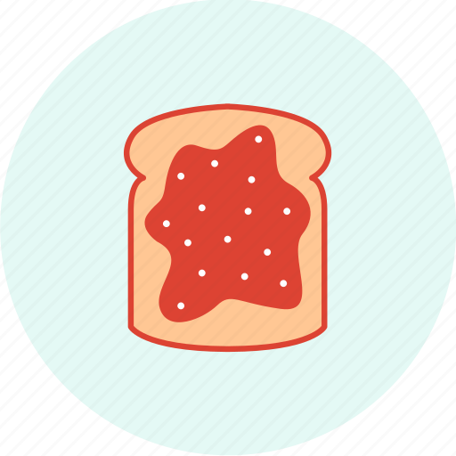 bread, celebration, easter, event, holiday, jam, party icon