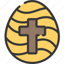christianity, easter, egg, holidays, tradition icon