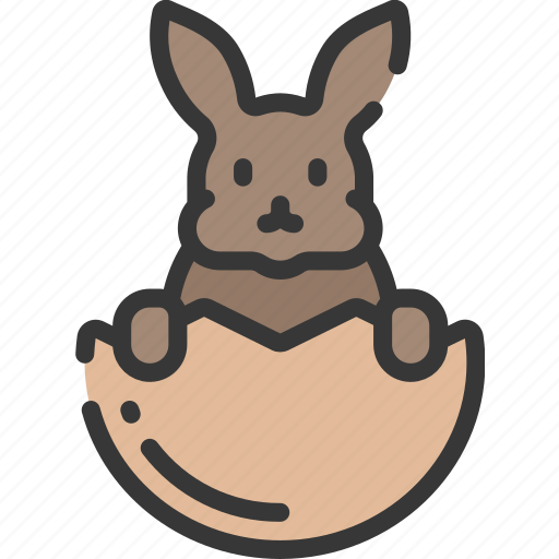bunny, christianity, easter, egg, holidays, in, rabbit icon