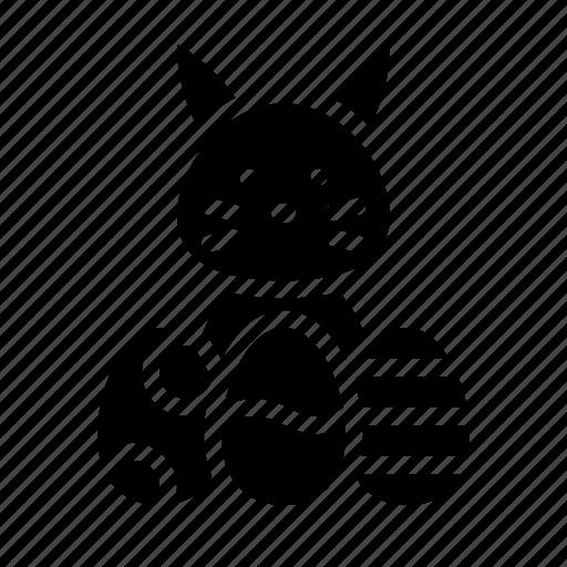 bunny, easter, easter egg, egg, rabbit icon