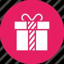 birthday, box, celebration, christmas, gift, present, presentation icon