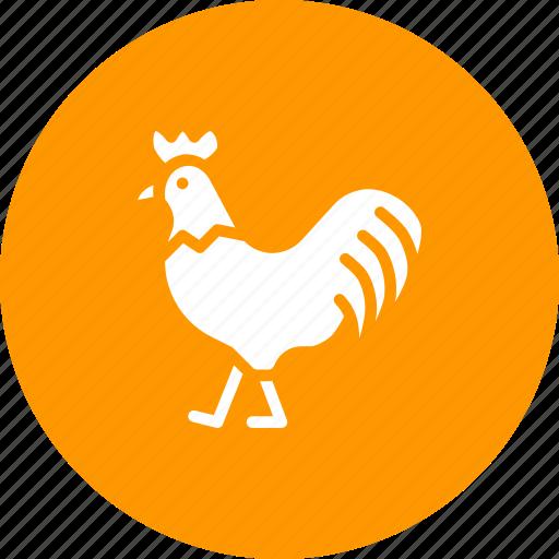 bird, chicken, farm, hen, livestock, rooster icon