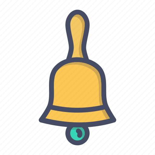 bell, christmas, church, easter, jingle, procession icon
